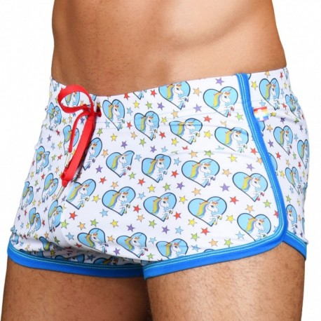 Andrew Christian Ultra Unicorn Jogger Short