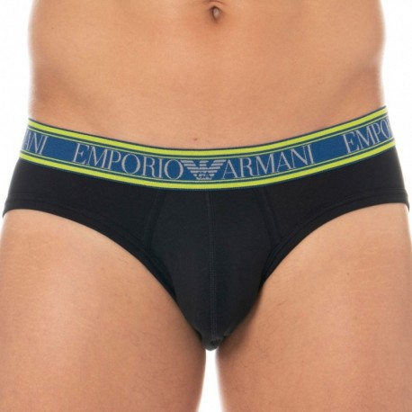 Emporio Armani Slip Color Play Noir
