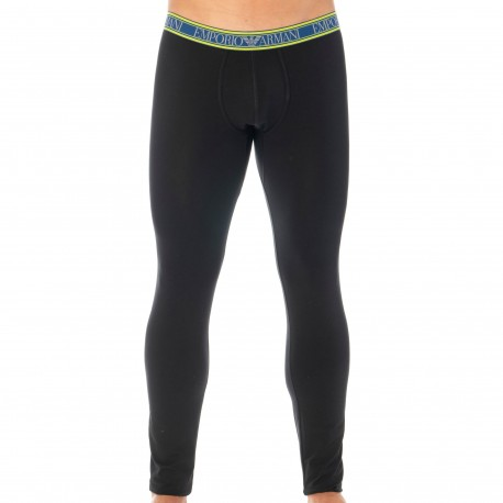 Emporio Armani Color Play Legging - Black