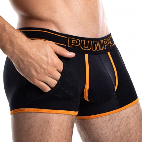 Pump! Boxer Jogger Nightlight Noir - Orange