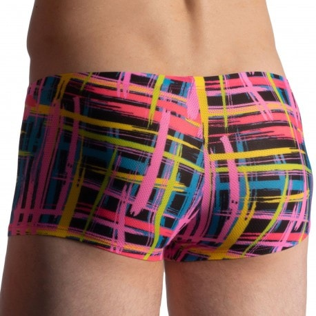 Olaf Benz Boxer Minipants RED 1918 Check