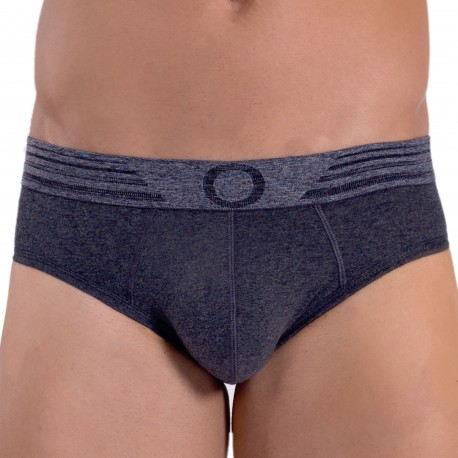 Rounderbum Basic Package Brief - Charcoal