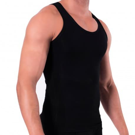 Rounderbum Débardeur Cotton Compression Noir