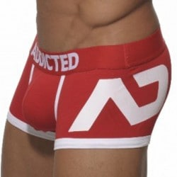 Boxer Disco Push Up Rouge