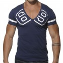 T-Shirt V-Neck 69 Marine