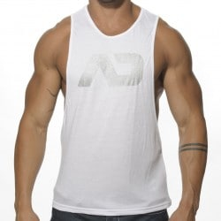 Addicted Disco Tank Top - White
