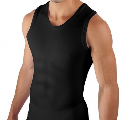 Débardeur Six Pack Compression Noir