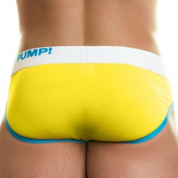 Candy Brief - Yellow - Teal