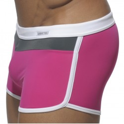 Boxer de Bain Three Colors Fuchsia