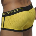 Shorty Mesh Elastic Contrast Yellow