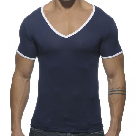 Basic Colors T-Shirt - Navy