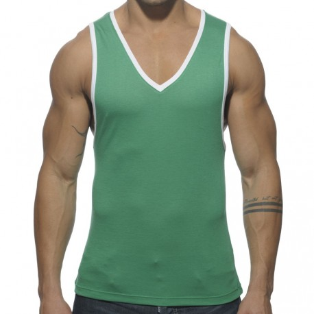 Basic Colors Tank Top - Green