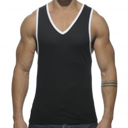 Basic Colors Tank Top - Black