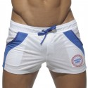 Short de Bain World Blanc