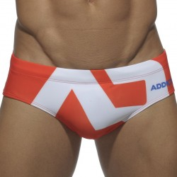 Slip de Bain AD Logo Orange