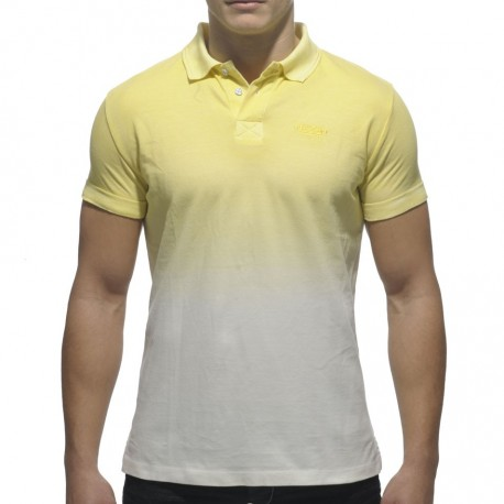 Polo Degraded Color Jaune