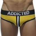 Slip Bottomless Double Piping Jaune