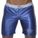 Shiny Bermuda Shorts - Royal