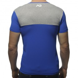 T-Shirt Col-V Mesh 23 Royal