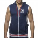 Veste Zip Cotton Hoody Marine