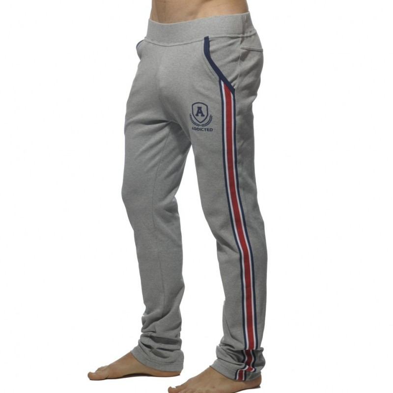 Pantalon Intercotton Gris