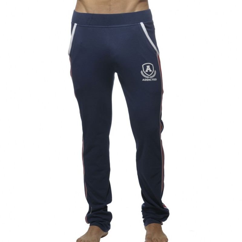 Addicted Pantalon Intercotton Marine