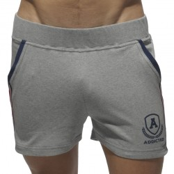 Short Intercotton Gris