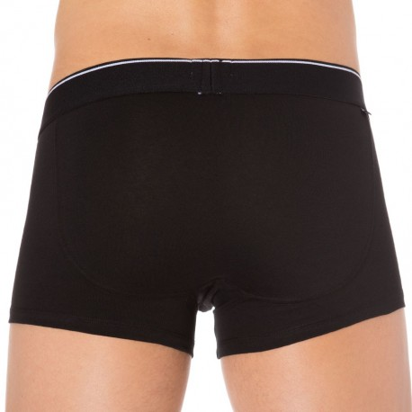 Lot de 3 Boxers Essential Coton Noirs