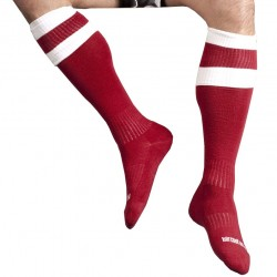 Football Socks - Red - White