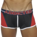 Boxer Blocking Color Rouge - Noir