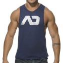 Disco Tank Top - Navy