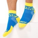 Lot de 2 Paires de Chaussettes All-Sport Spring Break Royal - Jaune