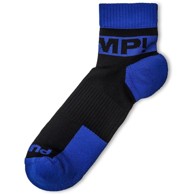 Pump! Lot de 2 Paires de Chaussettes All-Sport Panther Noir - Royal