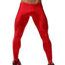 Pantalon Legging Pow! Rouge