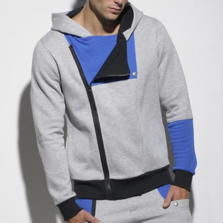 Veste Hoody Urban Fleece Grise