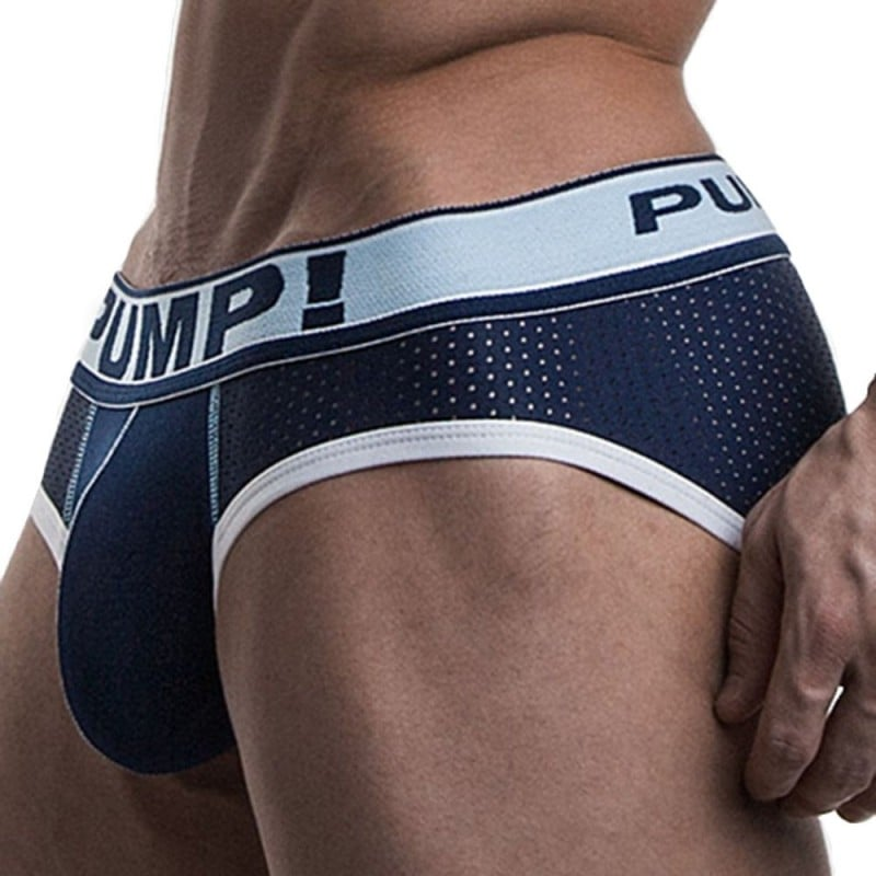 Blue Steel Brief - Navy