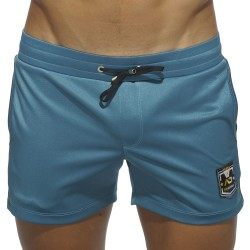 Badge Sport Short - Peacock Blue