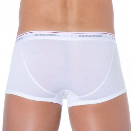 Shorty Jersey Cotton Stretch Blanc