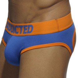 Slip Empty Bottom Basic Colors Royal - Orange