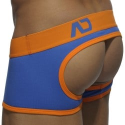Shorty Empty Bottom Basic Colors Royal - Orange