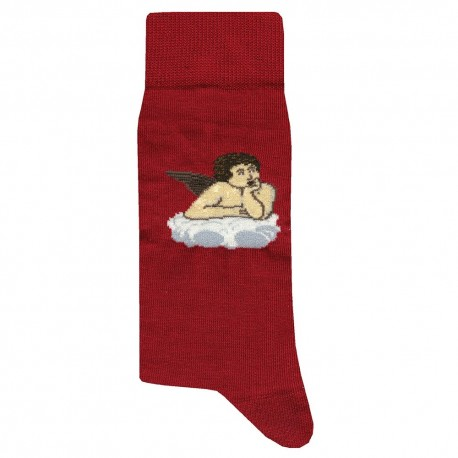Chaussettes Angel - Rouge