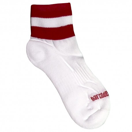 Chaussettes Petty - Blanc - Rouge