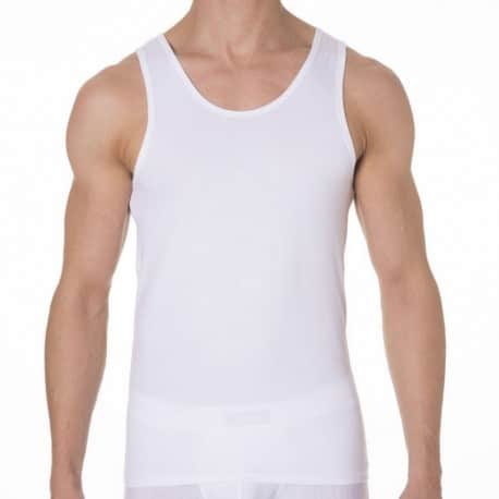 2-Pack Dry & Cool Tank Tops - White
