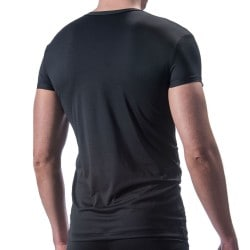 M200 V-Neck T-Shirt - Black