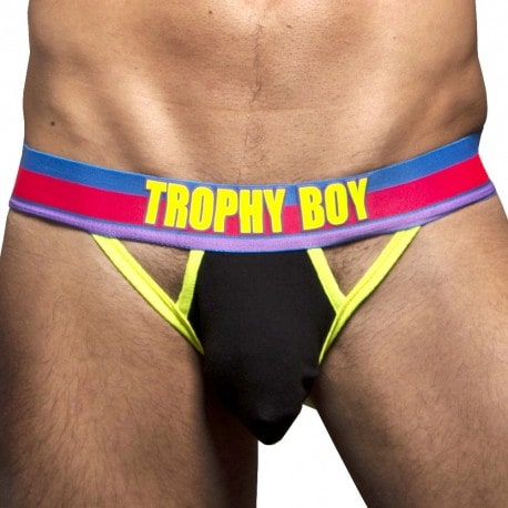 Trophy Boy Hero Jock - Black