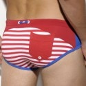 Slip de Bain Lucas Sailor Rouge - Royal