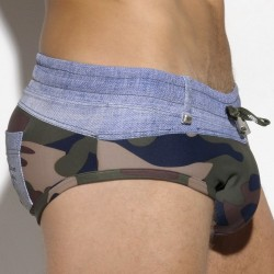Slip de Bain David Anchor Camouflage
