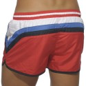 Short de Bain Stripes Rouge