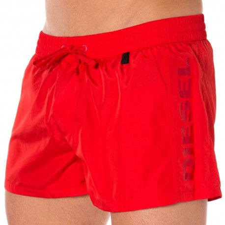 Short de Bain Fresh & Bright Rouge