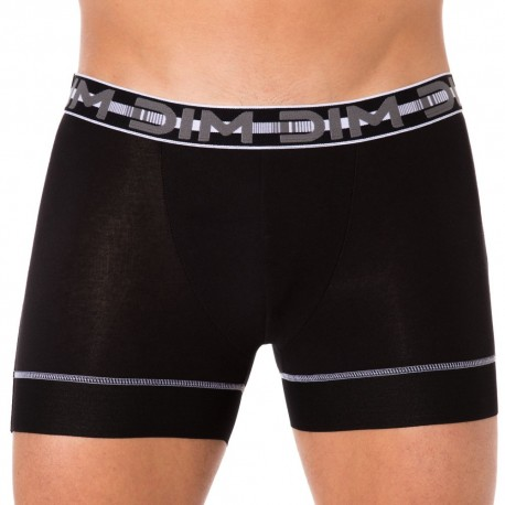 Lot de 2 Boxers 3D Stay & Fit Noirs